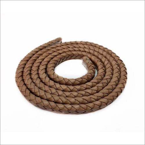 Oval Braided Leather Cords