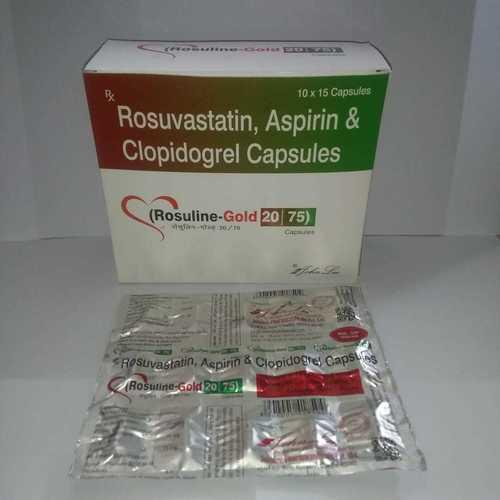 Rosuvastatin Calcium 20 MG + Aspirin 75 MG + Clopidogrel 75 MG