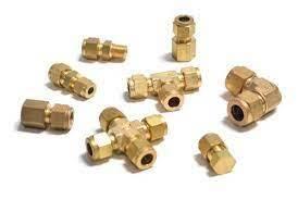 Brass Compression Fitting Ferrule 10