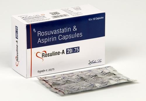 Rosuvastatin Calcium 20 MG + Aspirin 75 MG