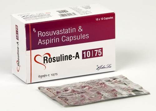 Rosuvastatin Calcium 10 MG + Aspirin 75 MG