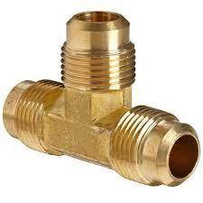 Brass Flare Union Tee