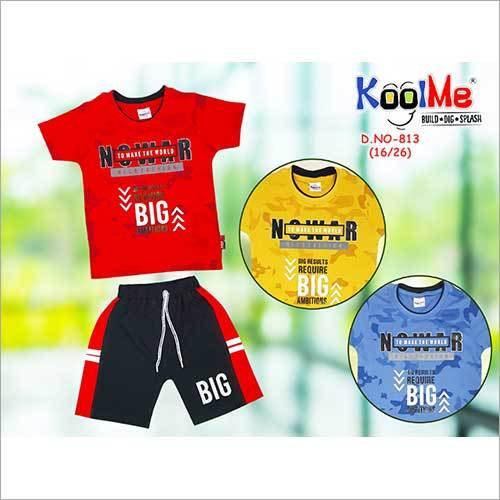 Boys Printed Baba Suit