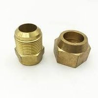 Brass Flare Short Union Nut