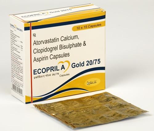 Atorvastatin 20 MG + Clopidogrel 75 MG + Aspirin 75 MG