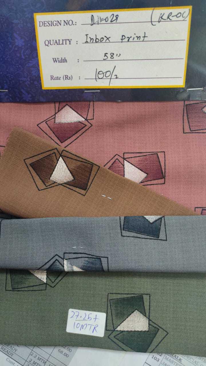Inbox Print Fabric