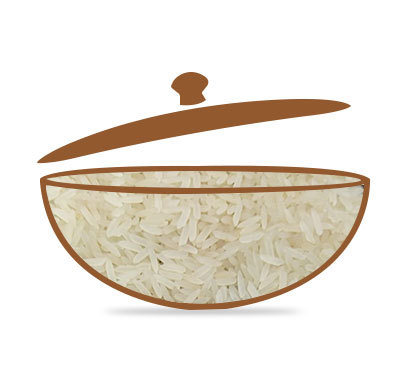 PR 11 White Sella Rice