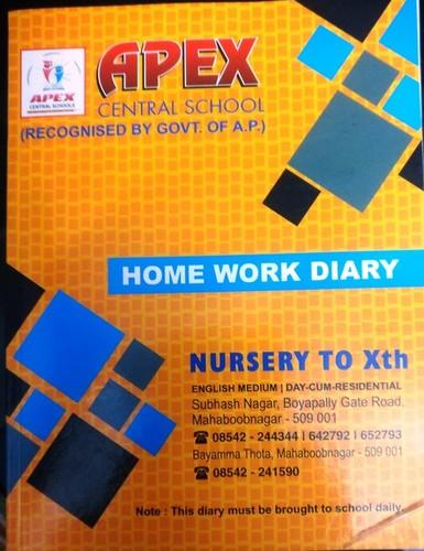 Home Work Diary