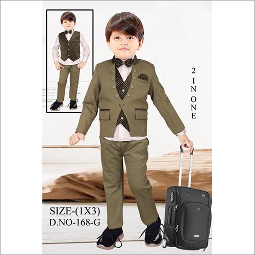 Kids Trendy Party Wear Suit