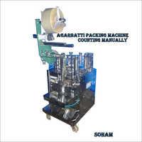 Agarbatii Packing Machine
