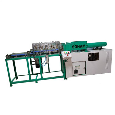 Hydrolic dhoopbatti making machine