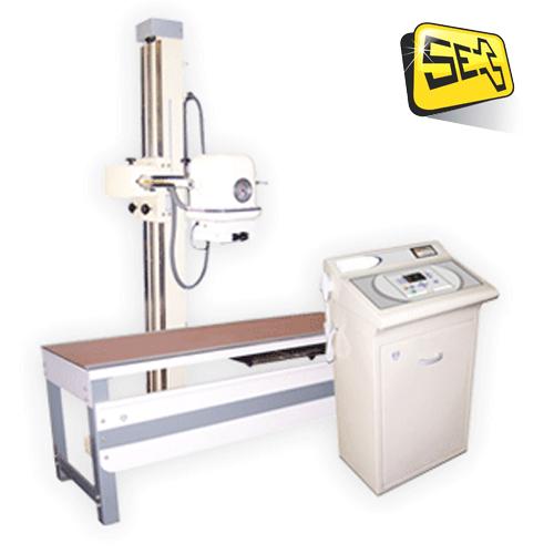 100 mA, 100 KVP Fixed X-Ray Machine