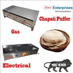 Stainless Steel Chapati Puffer
