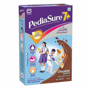 Pediasure 7+ Specialized Nutrition Drink Powder for Growing Children Chocolate Flavour - 400g