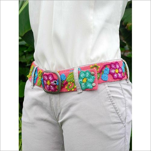 Ladies Fine Embroidered Belt