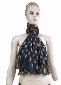 Chiffon Printed Designer Scarves