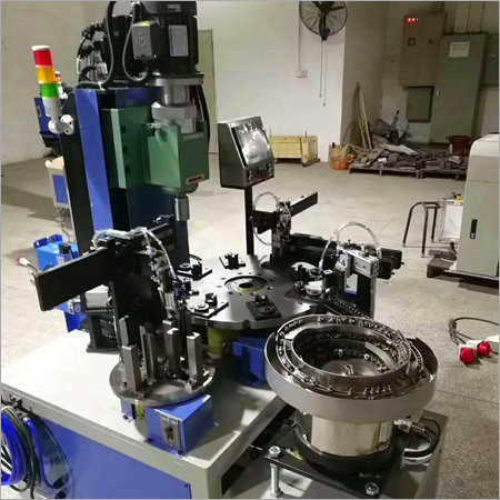 Automatic Orbital Riveting Machine