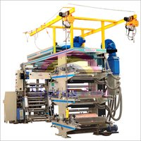 Six Color HDPE Flexographic Printing Machine