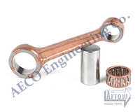 CONNECTING ROD ASSY. WITH CRANK PIN & SKF BEARINGS TVS KING