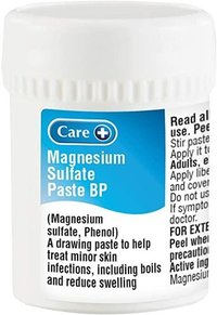 Magnesium Sulphate paste