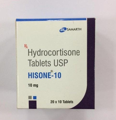 HYDROCORTISONE 10 MG TABLET (HISONE)