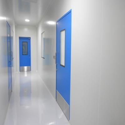 Hermetically sealed clean room door (swing type door) in OT.