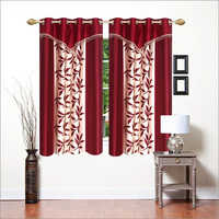 Printed Patch Window Curtain