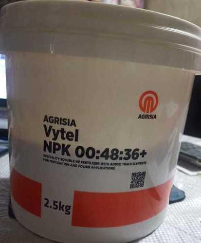 Vytel NPK Organic Fertilizer 00 48 36+
