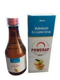 Multivitamin + Lysine Syrup