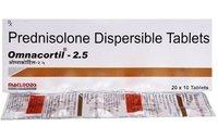 PREDNISOLONE 2.5 MG TABLET (OMNACORTIL)