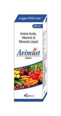 Amino Acid  Vitamin And Mineral Syrup