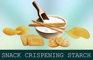 Snack Crispening  Modified Starch