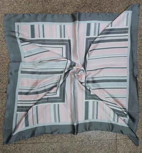 100% Satin Square Printed Scarves