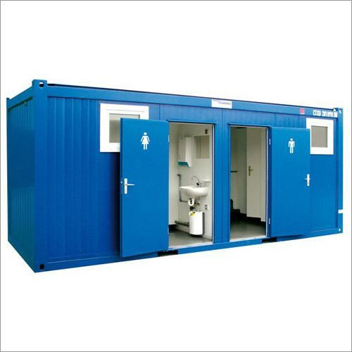 1 Seated Portable Toilet Cabin