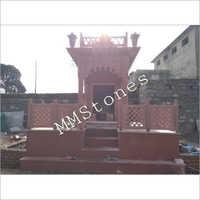 Red Stone Baramda Mandir 6 Feet