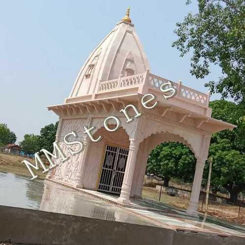 Stone Temple With Baramda 9'