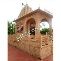 Stone Temple With Baramda 9 Feet Special Works