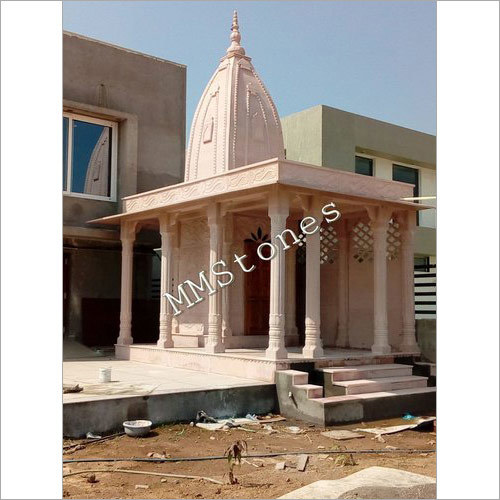 Stone Temple With Multiple Pillars 14 Ft