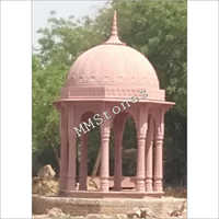 Red Sandstone Chatri 8 Pillars