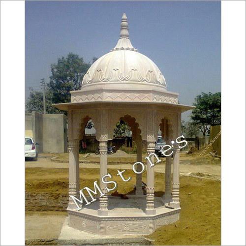 Stone Chatri 8 Pillars 7 Ft