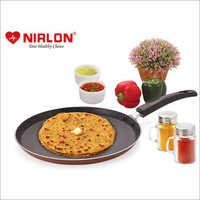 Nirlon Brownie Granite Non Stick Flat Tawa 26Cm Color-Brown