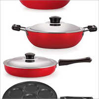 Nirlon Non Stick Aluminum Cookware Set