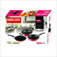 NR55410 2.8mm Nirlon Non Stick Cookware Gift Set