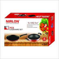 Nirlon Tawa And Kadai Combo Nonstick Cookware Set