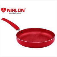 Nirlon Non-Stick Fry Pan Red-Velvet Induction Base