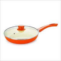 1.5L Nirlon Nonstick Aluminum Induction Frying Pan with Lid