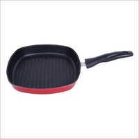 22.5cm Nirlon Nonstick Square Grill Pan