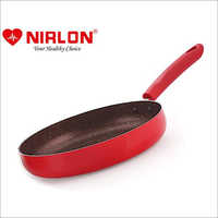 Nirlon Non-Stick Fry Pan Galaxy Induction Base (With Steel LiD)