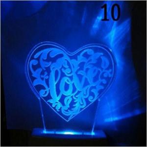 Heart Night Lamp