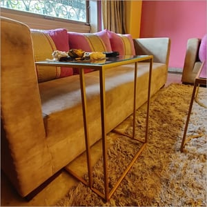 C End Gold Color Table
